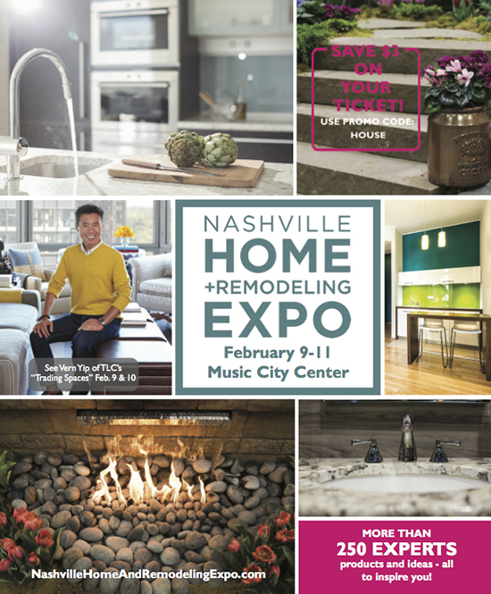 2018 Nashville Home + Remodeling Show Guide Cover